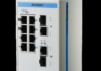 EKI-5629CI – 8FE+2G Switch Ethernet non gestito